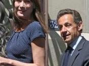 Carla Bruni Nicolas Sarkozy unis dans vote