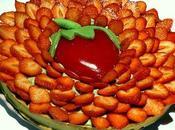Tarte fraises pistache facon
