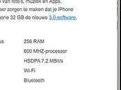 iPhone fuite chez T-Mobile Hollande