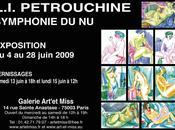 "Vernissage l'exposition ""Symphonie Leonid Ivanovich Petrouchine"