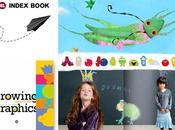 index book growing graphics design kids