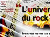 Palmarès concours nouvelles Rock