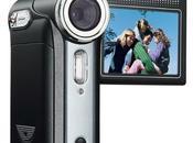 Caméscope Toshiba Camileo avec batterie NP60 jetable