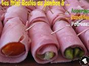 Mini-Roulés Jambon