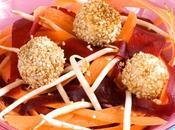 Ribambelles légumes bonbons poisson panés