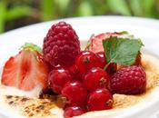 Gratin Sabayon Pineau Charentes rosé