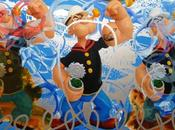 Jeff koons popeye series london opening