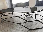 Bureau carbone Hexa design