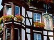 Avec cyclistes Tour France, dirigeons nous vers l'Alsace