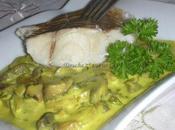 Filet julienne sauce moutarde champignons