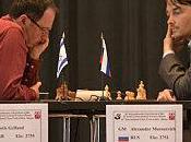 Tournoi Grands Maîtres Bienne, ronde Boris Gelfand gaffe