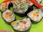 sushi maki débridé