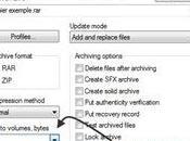 Comment découper fichier avec Winrar