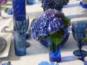 Table douceur d'hortensia