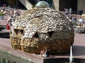 pavillon bois Barbican