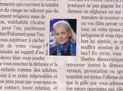 propos burqa (niqab) Elisabeth Badinter, l'indispensable.