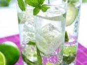 Cocktail d'été Variation autour mojito