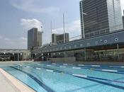 Nager bronzer piscine Joséphine Becker
