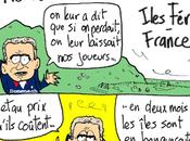 Equipe France, football, Iles Féroé, Domenech menaces glace