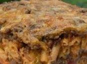 Lasagne macaroni fromage confettis légumes