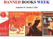 semaine livres interdits, bannis, censurés...