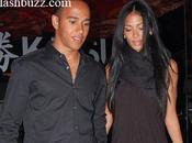 Joli couple Nicole Scherzinger Lewis Hamilton