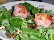 Salade chèvre figues