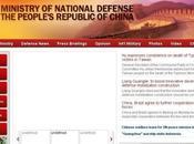 CHINE ministère Défense ouvre site anglais