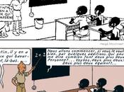 Tintin Congo interdit bibliothèque Brooklyn