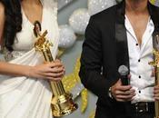 """Katrina kaif Shahid Kapoor reçoivent """"Rajiv Gandhi Awards"""""""