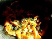 melon, tueur pape salade d'herbettes fraîches