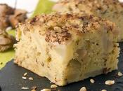Gâteau moelleux poires noisettes