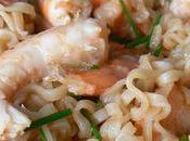 Nouilles crevettes