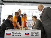 Master d'échecs Bilbao Aronian Grischuk tête mi-parcours