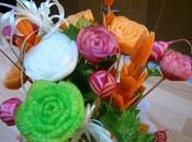 Bouquet d'anniversaire Sculpture légumes