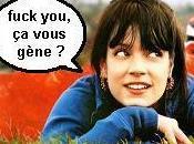 Lily Allen Fuck censuré