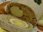 Roulé poulet marbré d'après recette rachida Amh...