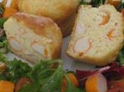 Mini cakes surimi gruyère