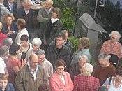 """Beaucoup d'émotion pour l'inauguration l'esplanade """"Janine Choblet"""" Pyramides"""