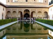 Grenade, l'alhambra, palais Nasrides