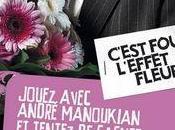 André Manoukian l'effet fleurs