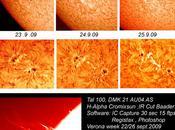 Soleil zones active Septembre