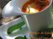 Moelleux tomacouli, roquette chèvre