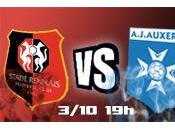 Rennes Auxerre L'avant match