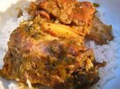 Hara Ghosht Suka Kadi Curry d'agneau