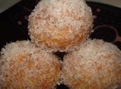 Boules neige noix coco