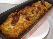 Cake tomates sechees lardons