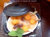Soupe melon magret canard