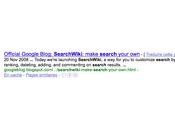 Google Wiki Vers modèle collaboratif