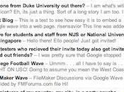 Google Wave: astuces outils